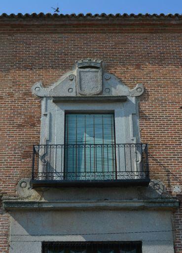 Palacio de los Condes de Fuensalida, detalle