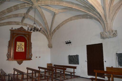 Iglesia parroquial de San Juan Bautista, interior capilla
