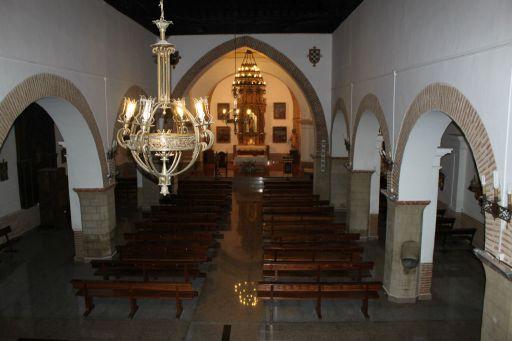 Iglesia parroquial de San Juan Bautista (interior)