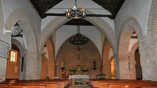 Iglesia parroquial de Santa María Magdalena,interior