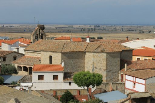 Iglesia parroquial de San Ildefonso, vista aerea