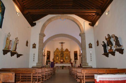 Iglesia parroquial de San Ildefonso, interior