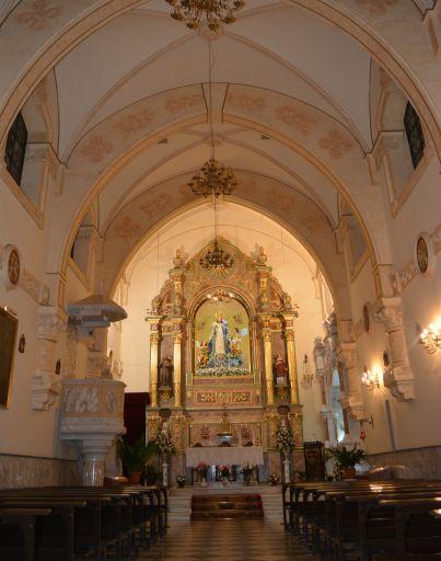 Ermita de Nuestra Señora del Rosario de los Pastores, interior