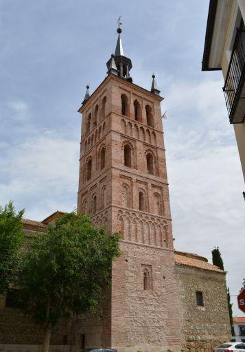 Iglesia Parroquial de la Asunción, Torre mudéjar