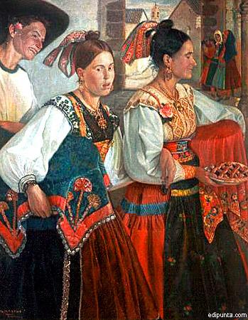 Escenas típicas, Museo Marcial Moreno Pascual (a)