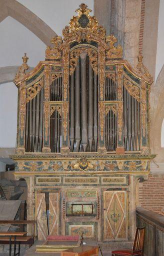 Iglesia parroquial Santa María Magdalena, organo