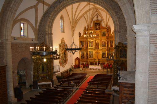 Iglesia parroquial Santa María Magdalena, interior