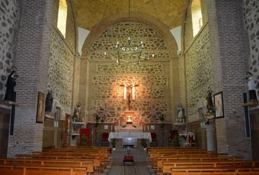 Iglesia parroquial de Santa María Magdalena, Interior
