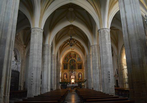 Iglesia Parroquial San Martín Obispo de Lillo, interior