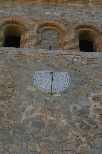Iglesia del Divino Salvador , reloj de sol