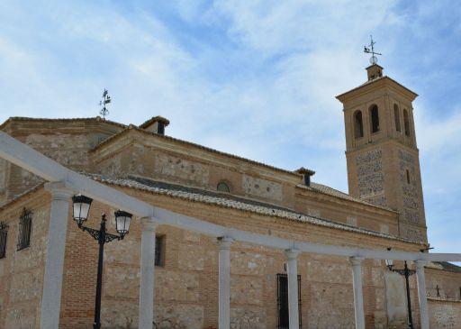 Iglesia parroquial de Santa Marina, exterior