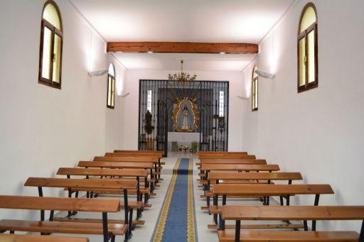 Ermita de la Purísima Concepción, interior