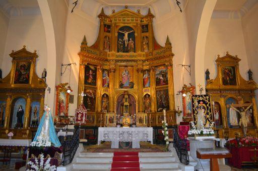 Iglesia parroquial de Santa Marina, interior