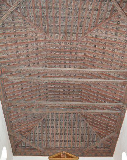 Iglesia parroquial, artesonado del techo