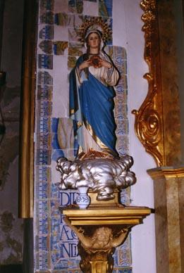 Iglesia parroquial, cerámica renacentista S. XVI