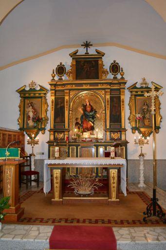 Ermita de Santa Quiteria, interior