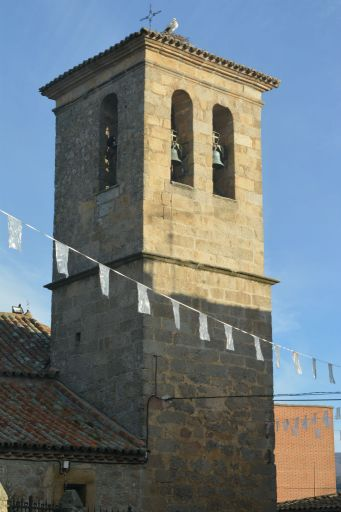 Iglesia parroquial de San Bartolomé Apóstol, torre