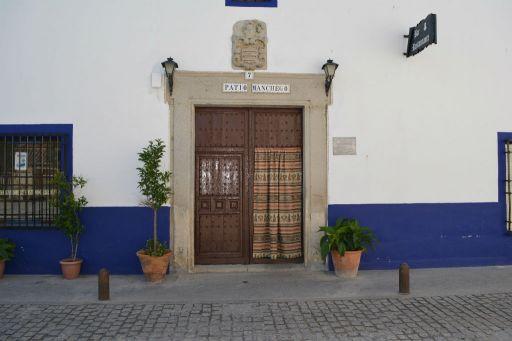 Puerta patio manchego