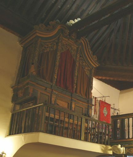 Iglesia parroquial de San Juan Bautista, órgano