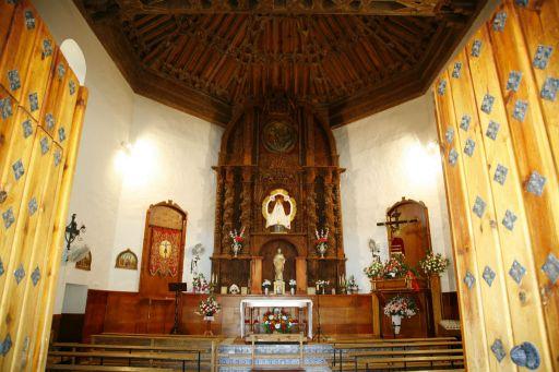Ermita de San Pedro, interior