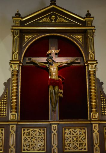 Iglesia parroquial de Nuestra Señora de la Asunción, Cristo