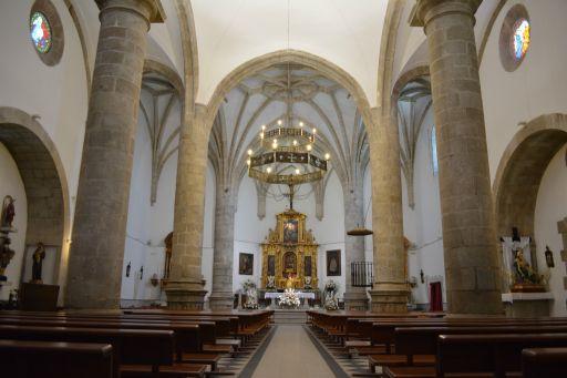 Iglesia Parroquial Ntra Sra Mª Magdalena, interior