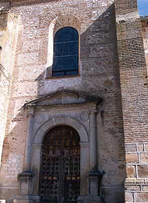 Iglesia parroquial de San Sebastián, puerta