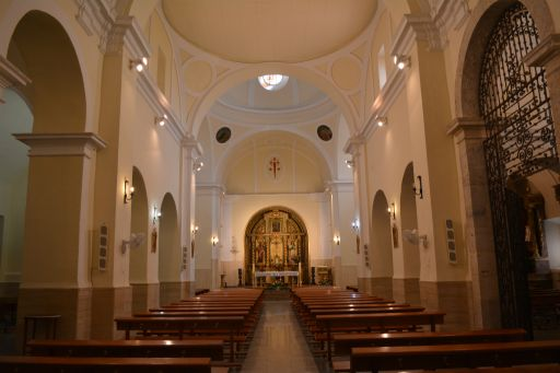 Iglesia de San Andrés, interior