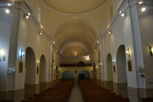 Iglesia de San Andrés, interior coro