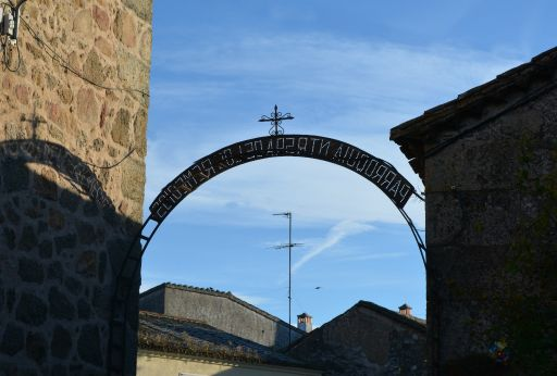 Iglesia parroquial de la Virgen de los Remedios, arco