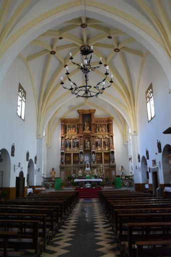 Iglesia Parroquial de Nuestra Señora de Altagracia, interior