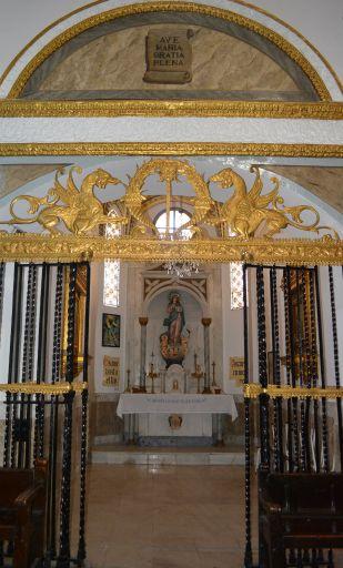 Iglesia Parroquial de Nuestra Señora de Altagracia, capilla