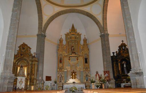 Iglesia de San Miguel, interior