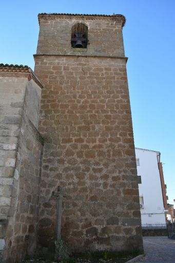 Iglesia parroquial de Nuestra Señora del Monte, torre