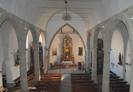 Iglesia parroquial de Nuestra Señora del Monte, interior