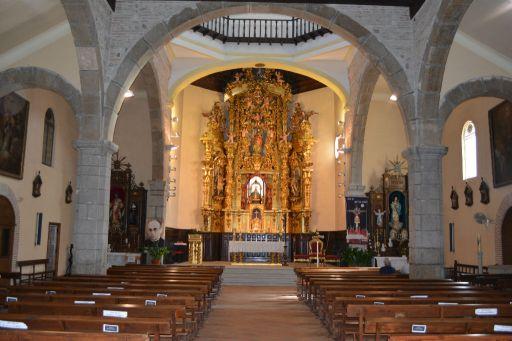 Iglesia parroquial de Nuestra Señora de la Antigua, interior