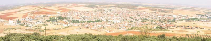 Panorámica desde la Sierra Santo