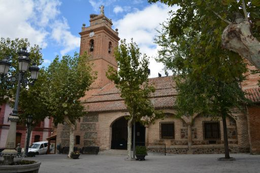 Iglesia parroquial de San Sebastián, exterior