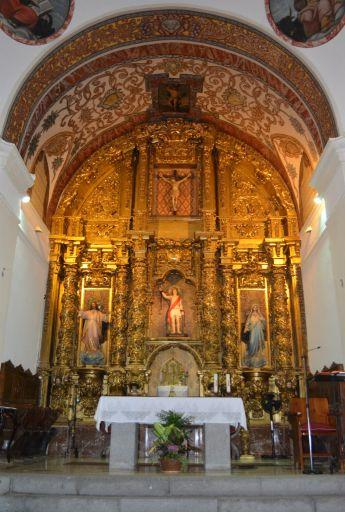 Iglesia parroquial de San Sebastián, altar