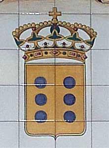 Escudo en cerámica
