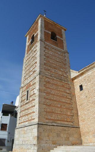 Iglesia parroquial de Santiago Apóstol, torre