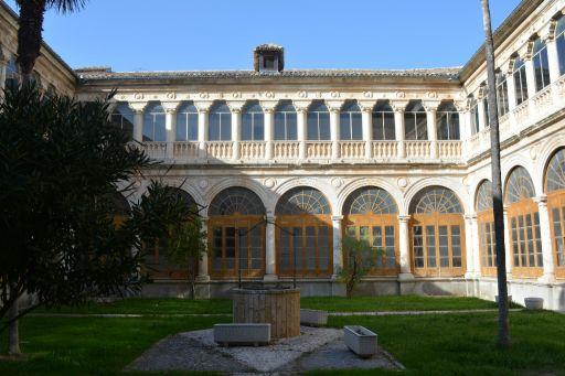 Convento de los Padres Dominicos, jardín