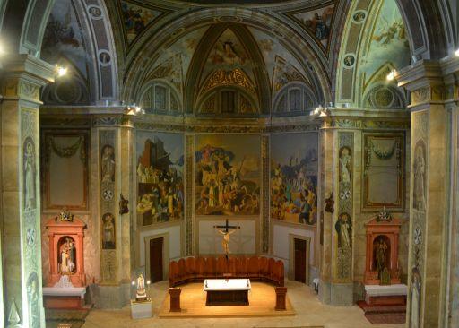 Convento de los Padres Dominicos, tríptico del altar