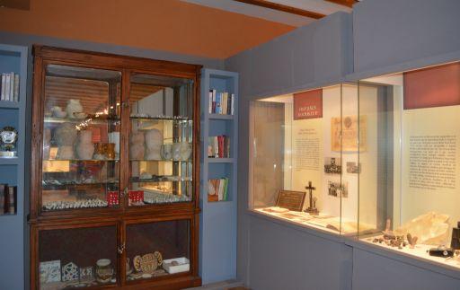 Museo Arqueológico Padre Santos, detalle (d)