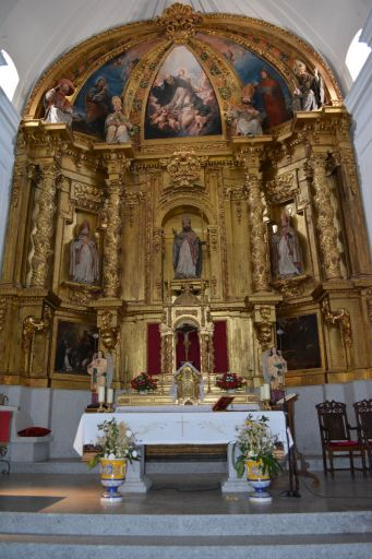 Iglesia de San Julián, interior (A)