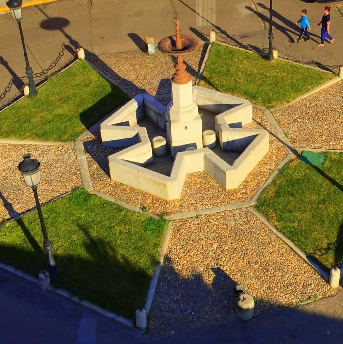 Fuente Grande desde el campanario de San Pedro