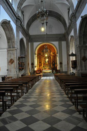 Iglesia parroquial de Santo Tomás Apóstol, interior