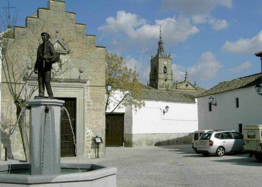 Escultura Fuente de El Calero