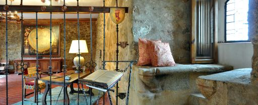 Castillo de los Condes de Orgaz, salón Mapa Mundi