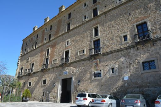 Palacio condal y actualmente Parador Nacional de Turismo